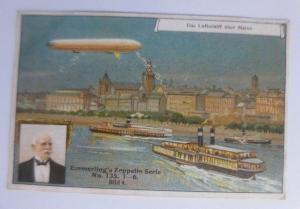 Kaufmannsbilder, Emmerlings Nudeln-Fabrikate, Zeppelin Nr.135 Bild 4 ♥