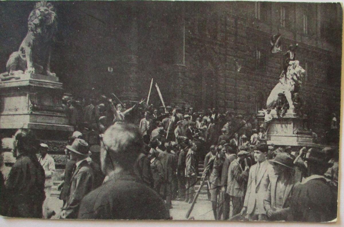 Österreich Wien Unruhen 1927, Sturm auf den Justizpalast (44262) 0