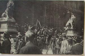 Österreich Wien Unruhen 1927, Sturm auf den Justizpalast (44262)