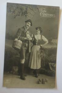 Ostern, Frauen, Mode, Korb, Eier,   1913 ♥ (13335)