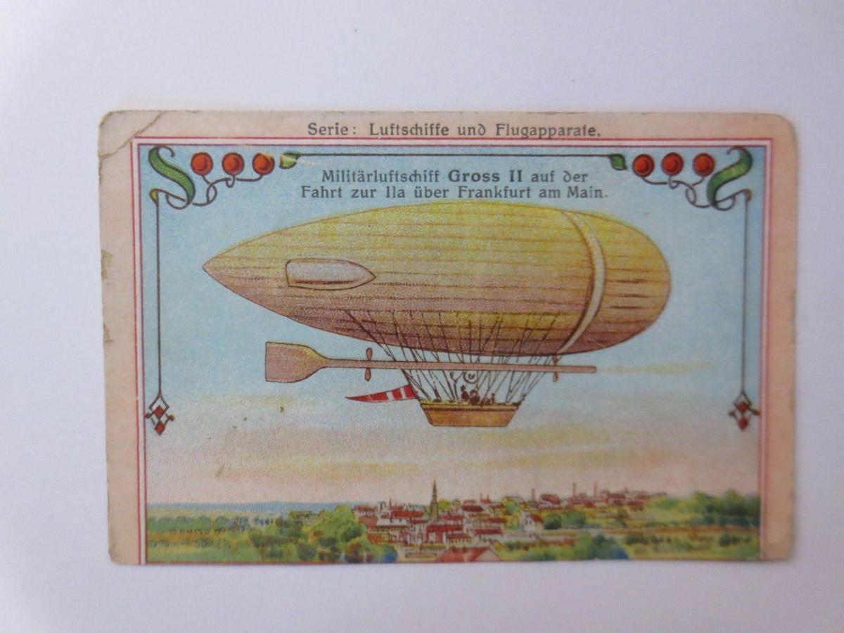 4.Kaufmannsbilder, Serie Luftschiffe und Flugapparte ♥ 0