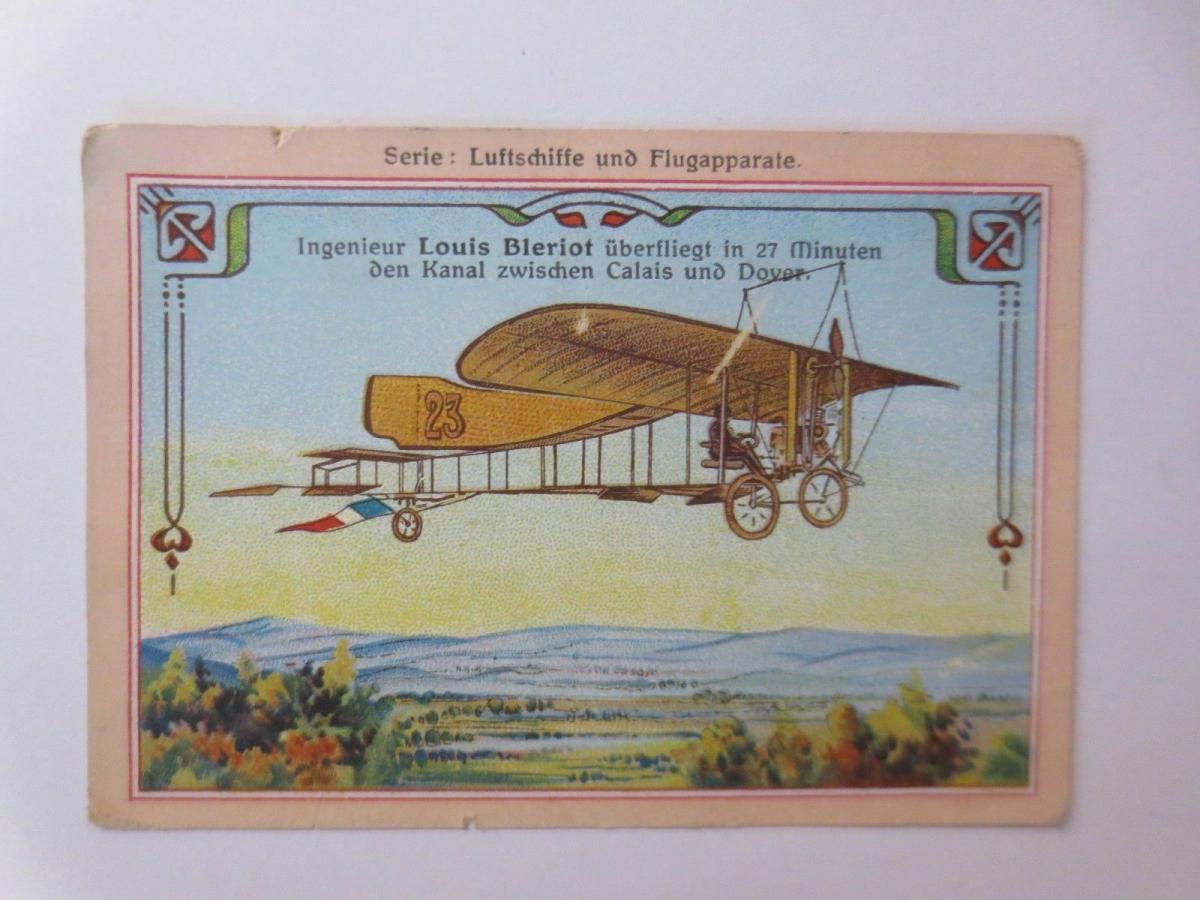 4.Kaufmannsbilder, Serie Luftschiffe und Flugapparte ♥ 1