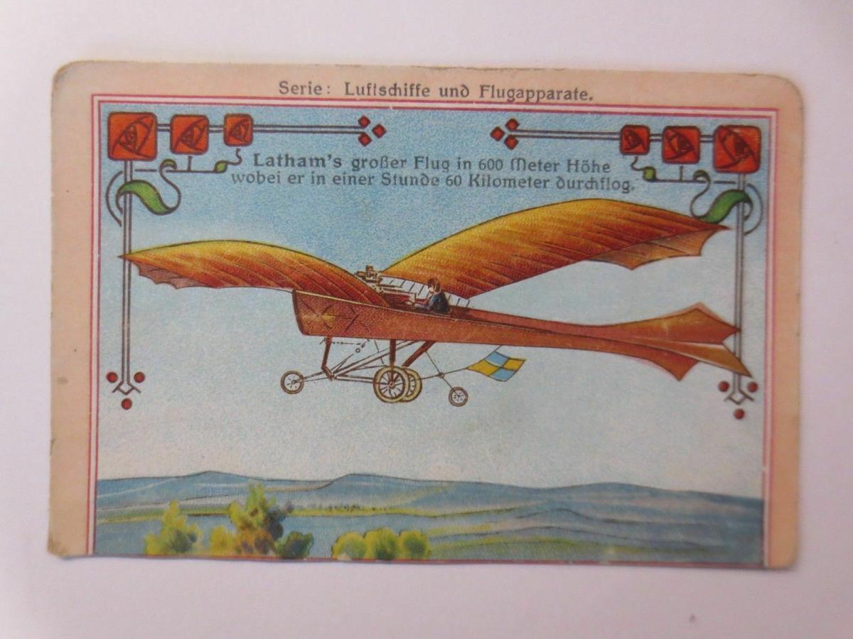 4.Kaufmannsbilder, Serie Luftschiffe und Flugapparte ♥ 2