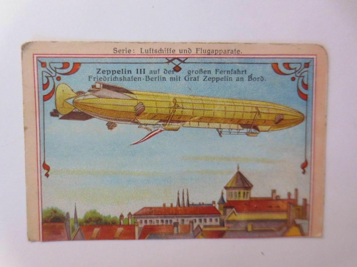 4.Kaufmannsbilder, Serie Luftschiffe und Flugapparte ♥ 3