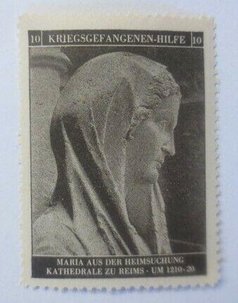 Vignetten Deutschland Kriegsgefangenen-Hilfe, Maria´s Heimsuchung ♥ (49200) 0