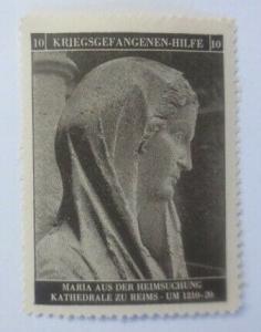 Vignetten Deutschland Kriegsgefangenen-Hilfe, Maria´s Heimsuchung ♥ (49200)