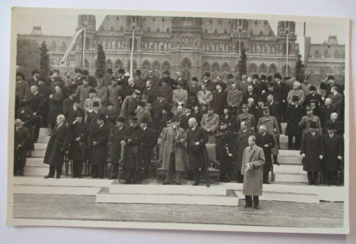 Österreich, Parade, Politik Militär, Fotokarte ca. 1930 0