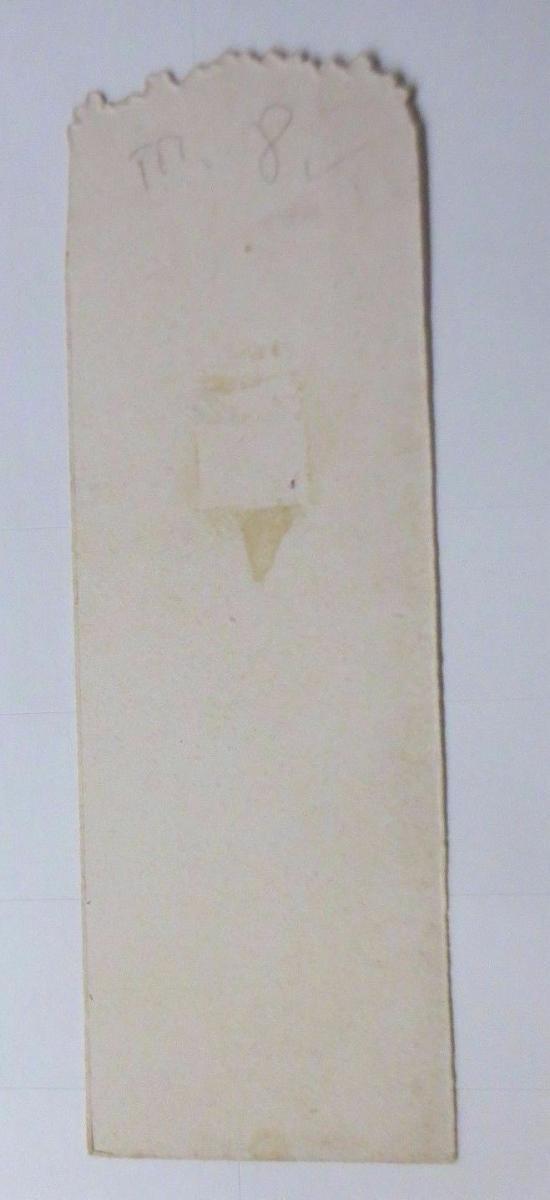 Oblaten, Kaufmannsbild, Lesezeichen, Kinder 12 cm x 4 cm  1900 ♥ 1