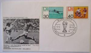 Fußball WM 1974 Deutschland - Niederlande Endspiel (28669)