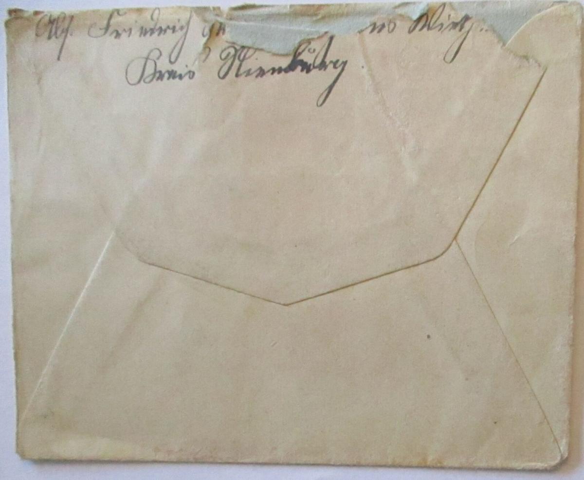 Feldpost 1917 aus Wietzen an Musketier im IR 24 (57009) 1