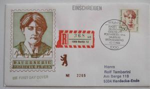 Berlin Frauen Nr. 828 R-FDC (45702)