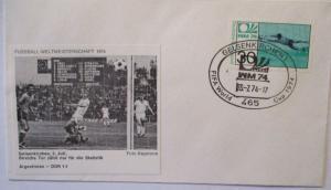 Fußball WM 1974 Argentinien - DDR Joachim Streich (19248)