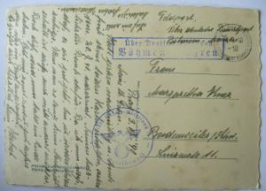 Deutsche Dienstpost Böhmen und Mähren, 1940 aus Prag (44826)