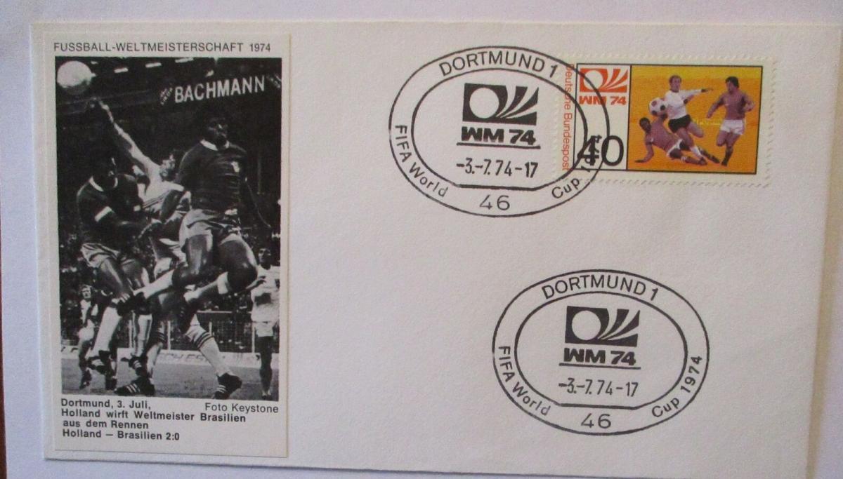 Fußball WM 1974 Holland - Brasilien in Dortmund (17194) 0