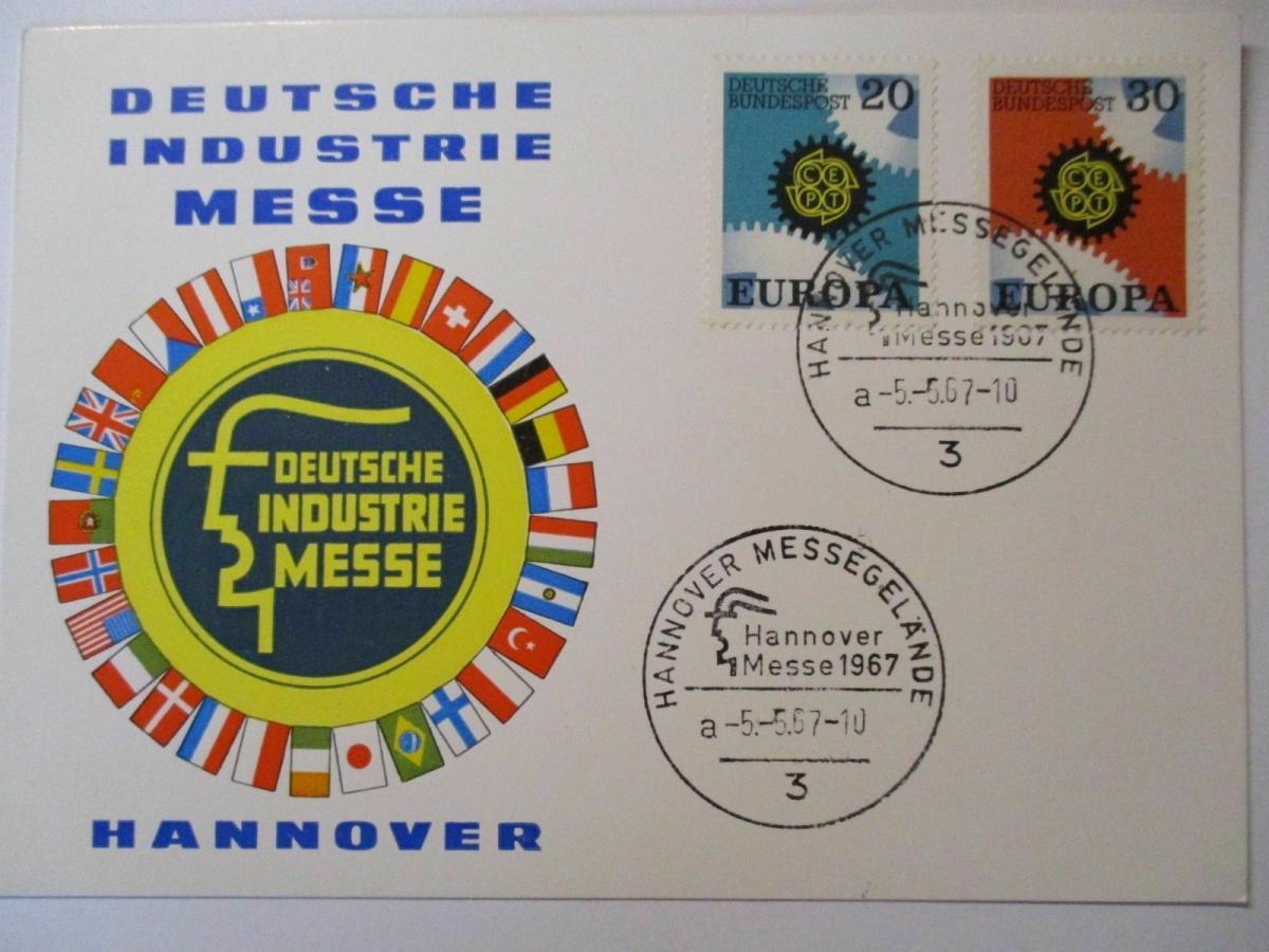 Bund, Hannover Messe 1967 (44779) 0