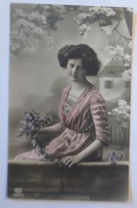 Geburtstag, Frauen, Mode, Blumen,   1907 ♥ (30143)