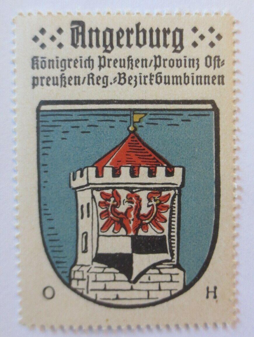Reklamemarke-Kaffee Hag, Wappen von Angerburg, Königreich Preußen 1910♥ (24108) 0