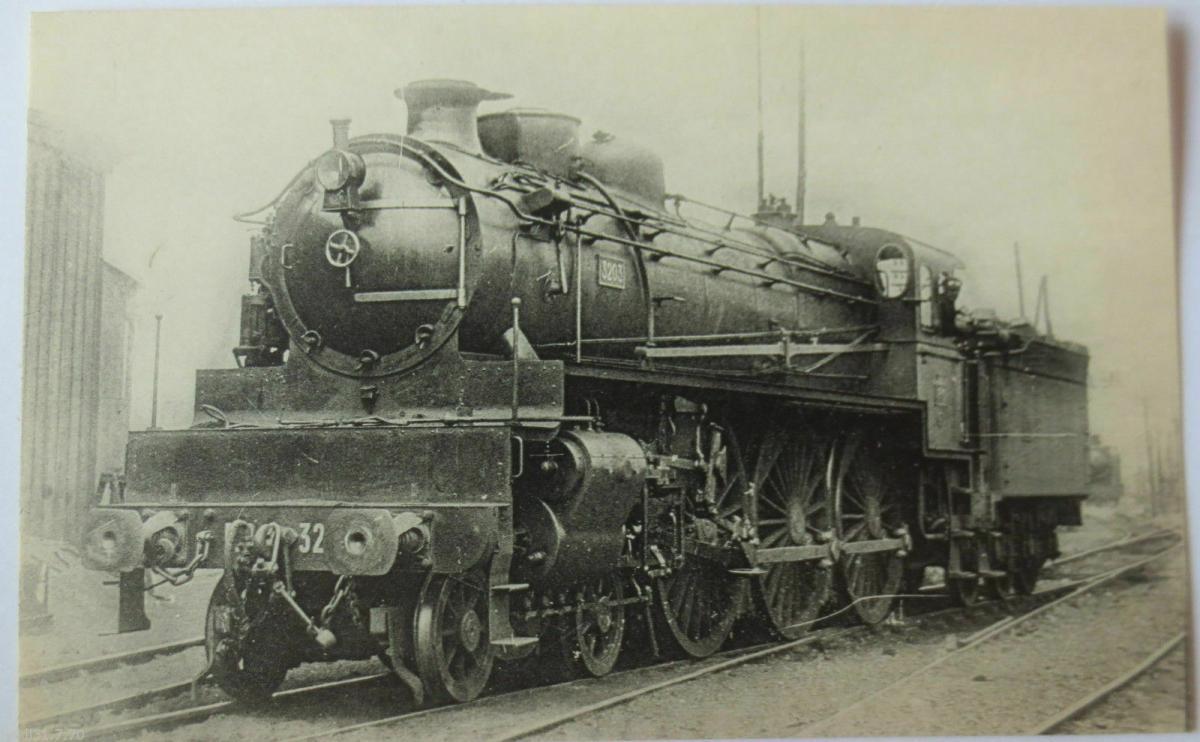 Eisenbahn, Lok, Lokomotive (Nr.476), ca. 1920 (32212) 0