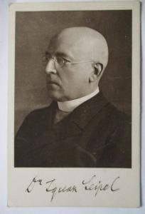 Österreich, Politik, Bundeskanzler Dr. Seipel