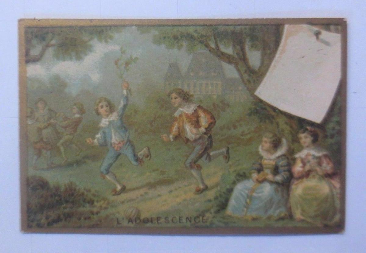 Kaufmannsbilder, E. Maux Fils, Parfumerie,  1900, Frankreich ♥ 0
