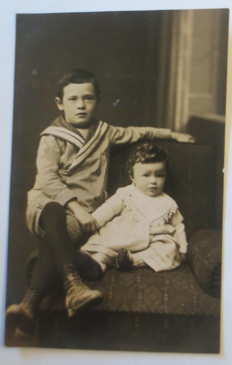 Kinder, Mode, Matrosen,     1907, Foto Julius Schmidlin ♥ (41121) 0
