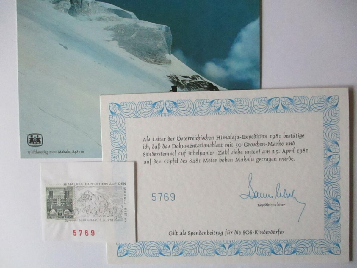 Österreich Himalaya Expedition 1981 (38339) 0