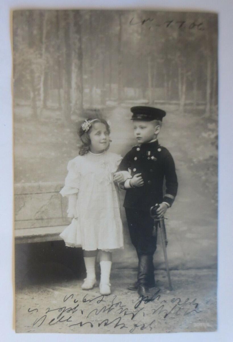 Kinder, Soldat, Mode,    1906 ♥ (41405) 0