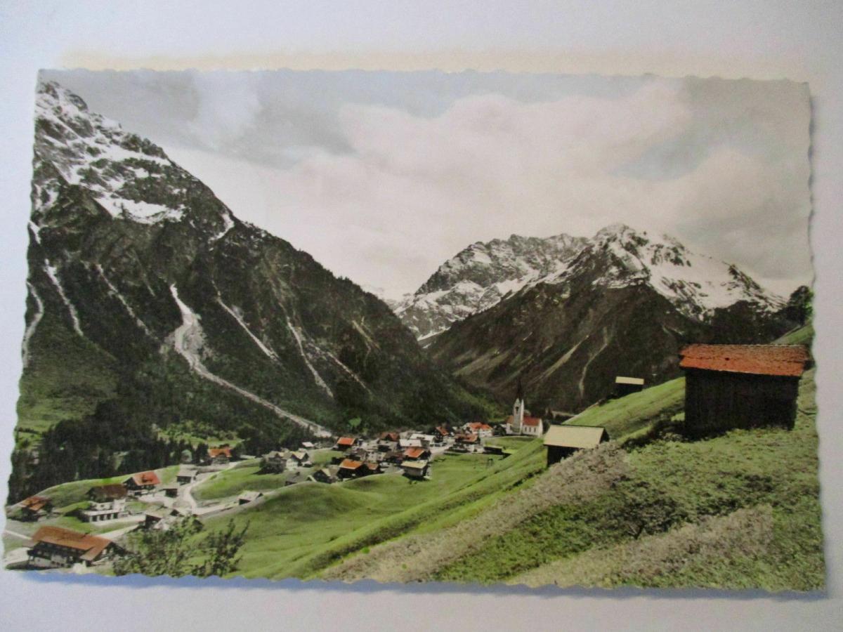 Österreich, Sondertarif Kleinwalsertal, Mittelberg 1957 1