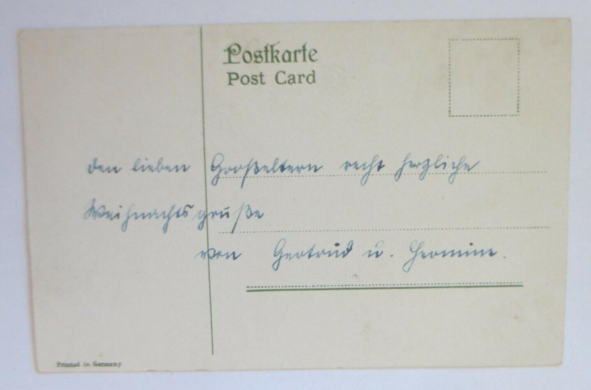 Weihnachten, Vogel, Christrosen, Kirche, Spruch,  1907 ♥ (7429) 1