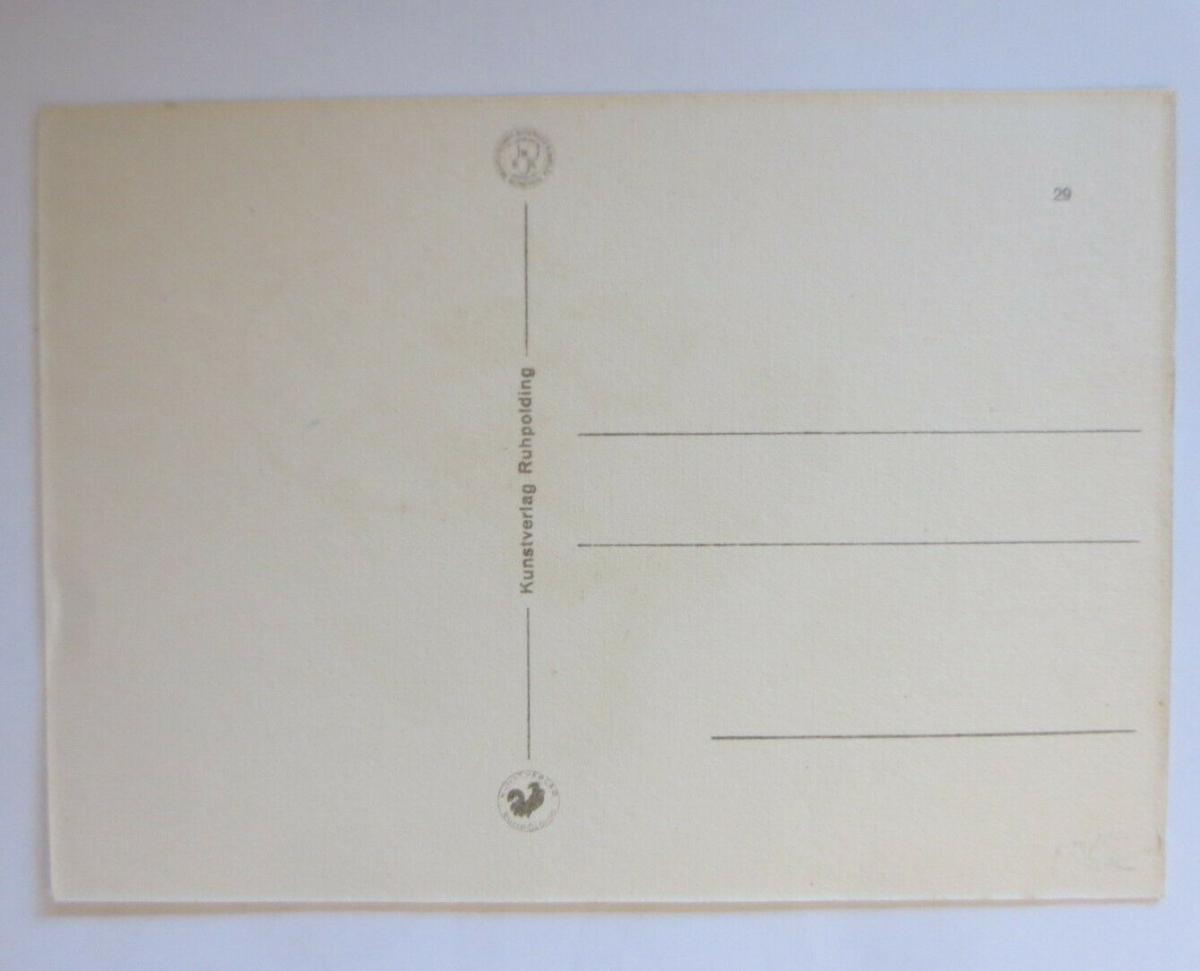 Affen, Schaukeln,  1950, Hahn ♥ (41391) 1