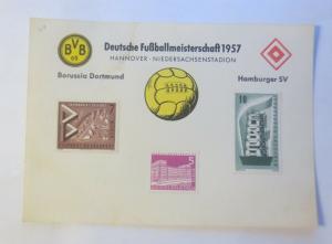 Fußball Meisterschaft 1957 HSV Hamburg Borussia Dortmund BVB  ♥  (57767)