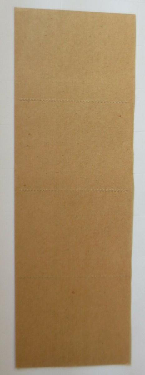 Lebensmittelkarten, Stadt Kempten Fleisch, Frischwurst, Oktober- Nov.1919♥(X122) 1