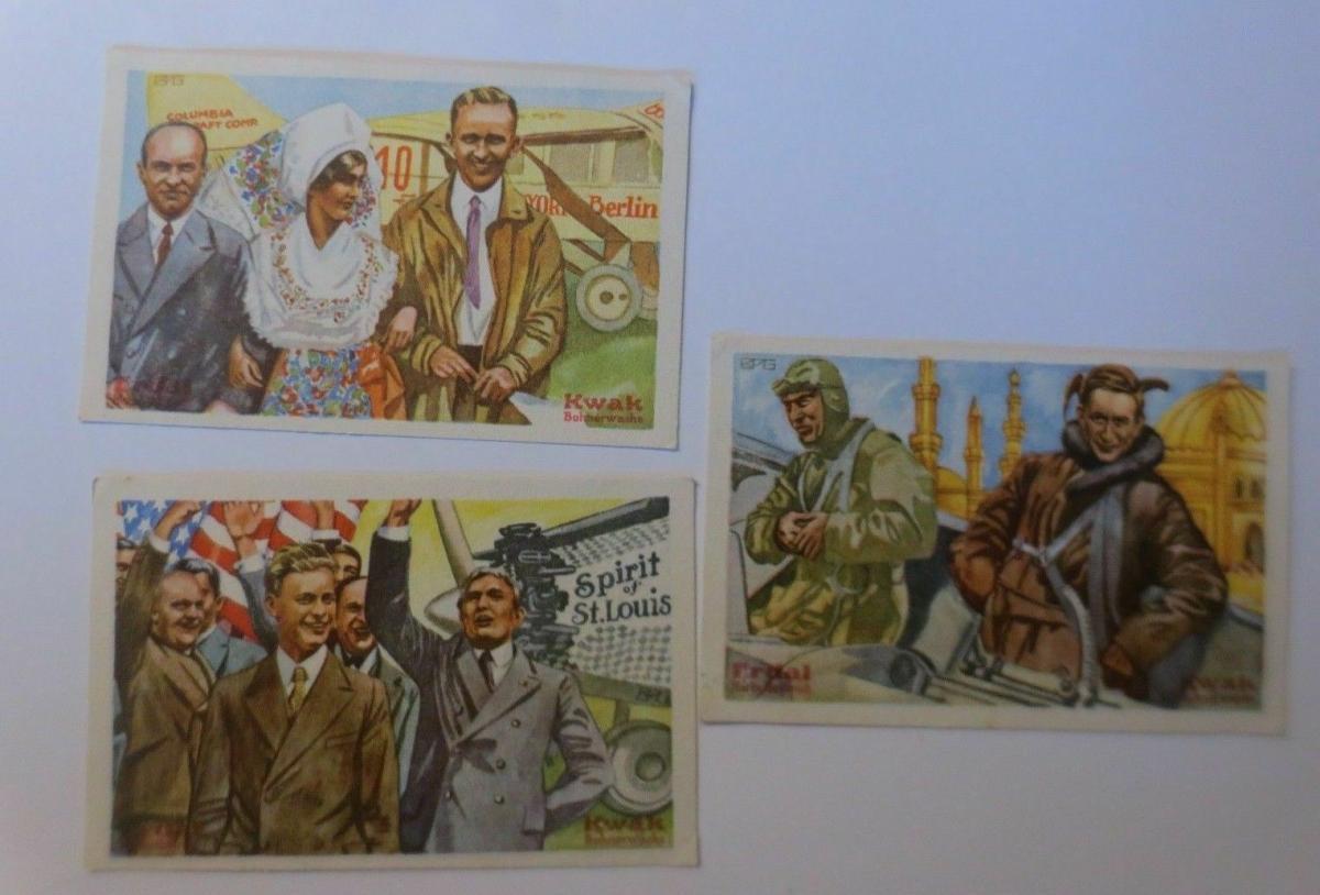 Kaufmannsbilder, Erdal-Kwak-Serienbilder, Serie 6, Bild 1,2,6, ♥ 0