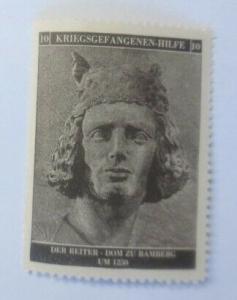 Vignetten Deutschland Kriegsgefangenen-Hilfe, Der Reiter ♥ (35727)
