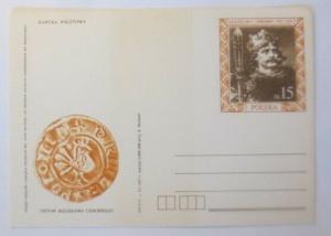 Polen Sonderganzsache König-Siegel-Vogel   1987 ♥ (29268)