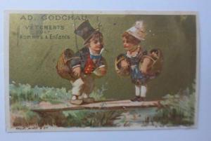 Kaufmannsbilder, Ad. Godchau, Kinder, 1889   ♥