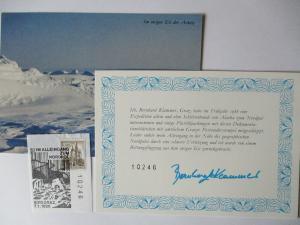 Österreich Klammer Expedition Alaska - Arktis Nordpol  1986 (37786)