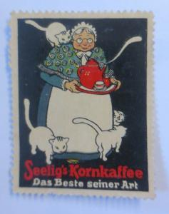 Vignetten  Seelig´s Kornkaffee Das Beste seiner Art 1910 ♥ (14550)