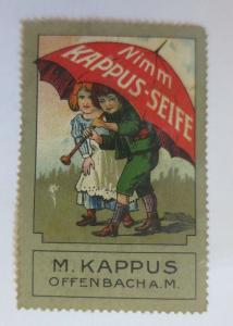 Vignetten Nimm Kappus-Seife M. Kappus Offenbach A.M.  ♥  (27797)