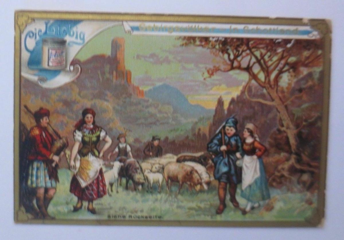 Liebig, Gebirgsvölker in Schottland, Dudelsack,    1900 ♥ (29238) 0