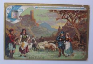 Liebig, Gebirgsvölker in Schottland, Dudelsack,    1900 ♥ (29238)
