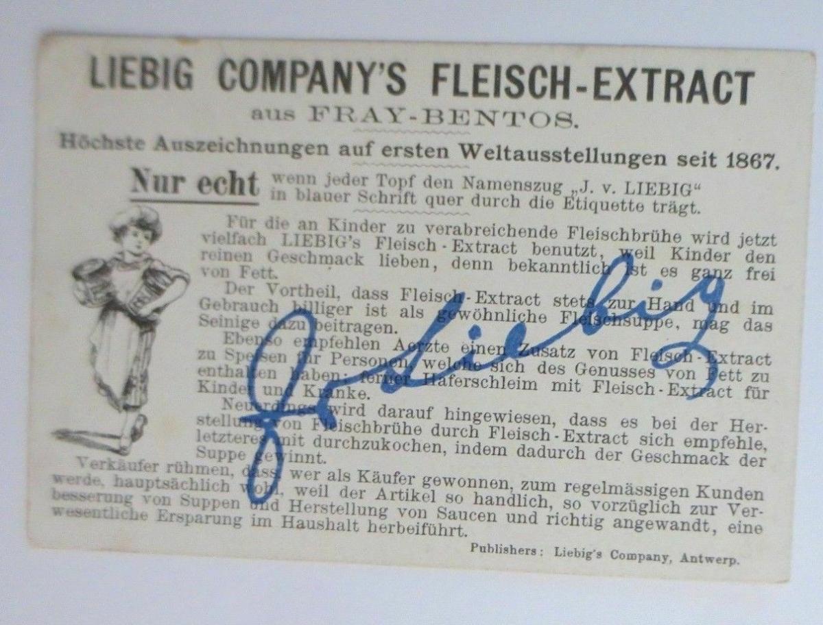 Liebig, Gebirgsvölker in Schottland, Dudelsack,    1900 ♥ (29238) 1