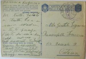 Italien Feldpost WW 2 aus Maruggio (39794)