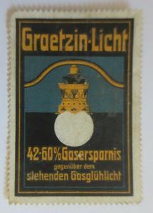 Vignetten  Graetzin-Licht 42-60% Gasersparnis gegenüber Gasglühlicht ♥ (26064)