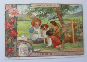 Liebig, Serie 597,  Frühstück im Freien ♥