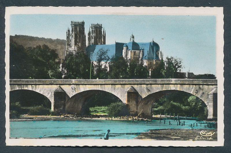 17459 AK Le Pont sur la Moselle et la Cathedrale