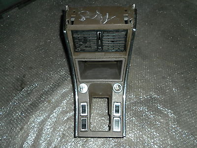 Citroen CX Pallas Mittelkonsole 1. Serie Oldtimer