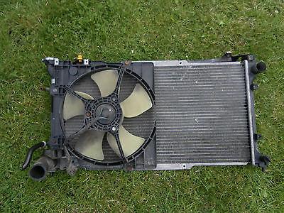 Subaru Legacy II BG BD Kühler + Lüfter EJ20 Automatic 94-98