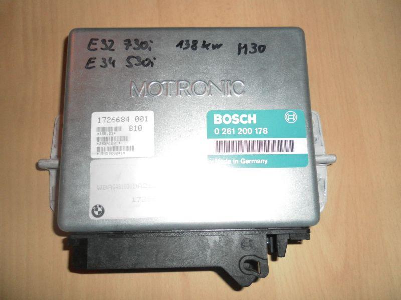 BMW E32 Motorsteuergerät 730i E34 530i M30 Bosch 0261200178 1726684