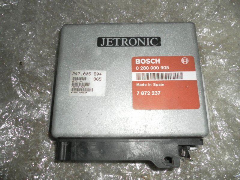Saab 9000 16V 2,3L Motor Steuergerät Bosch 0280000905 7872237